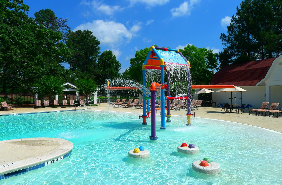 Children's pool at Sugarloaf sports center